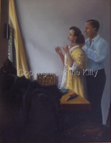 Double Portrait After Vermeer
