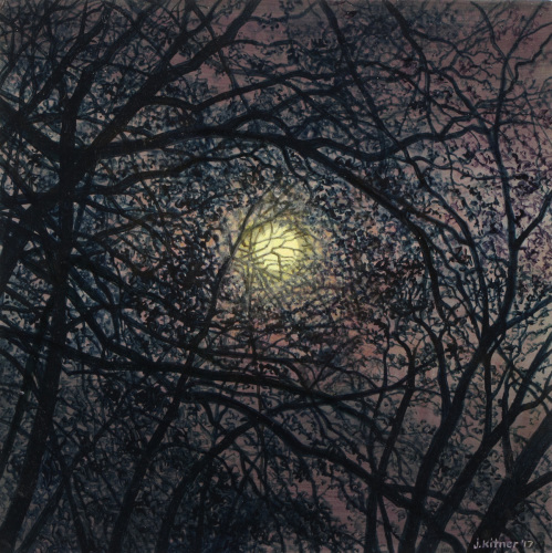 Bramble Moon by Jon Kitner Paintings