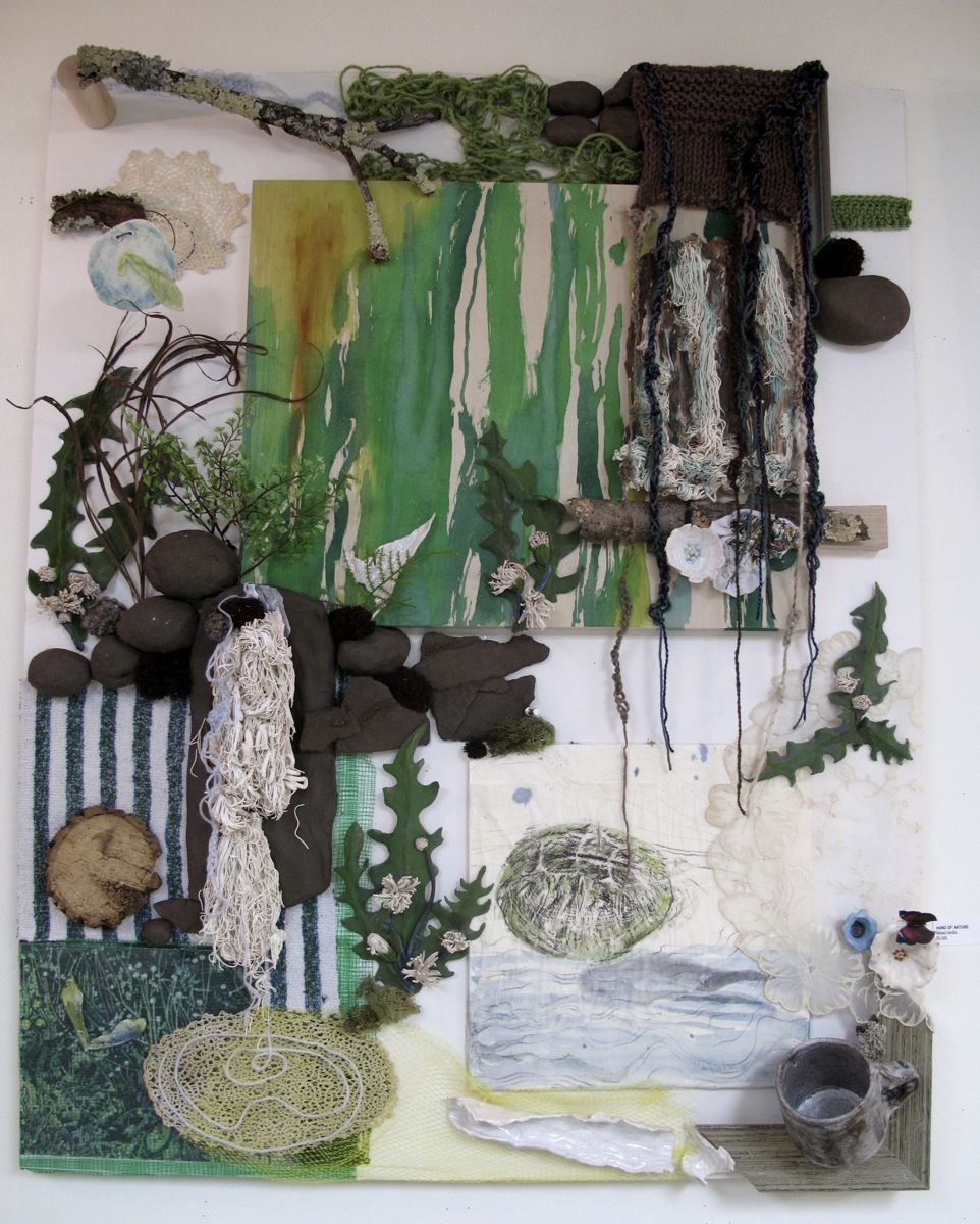 Spring Waterfalls assemblage, room 1 (large view)