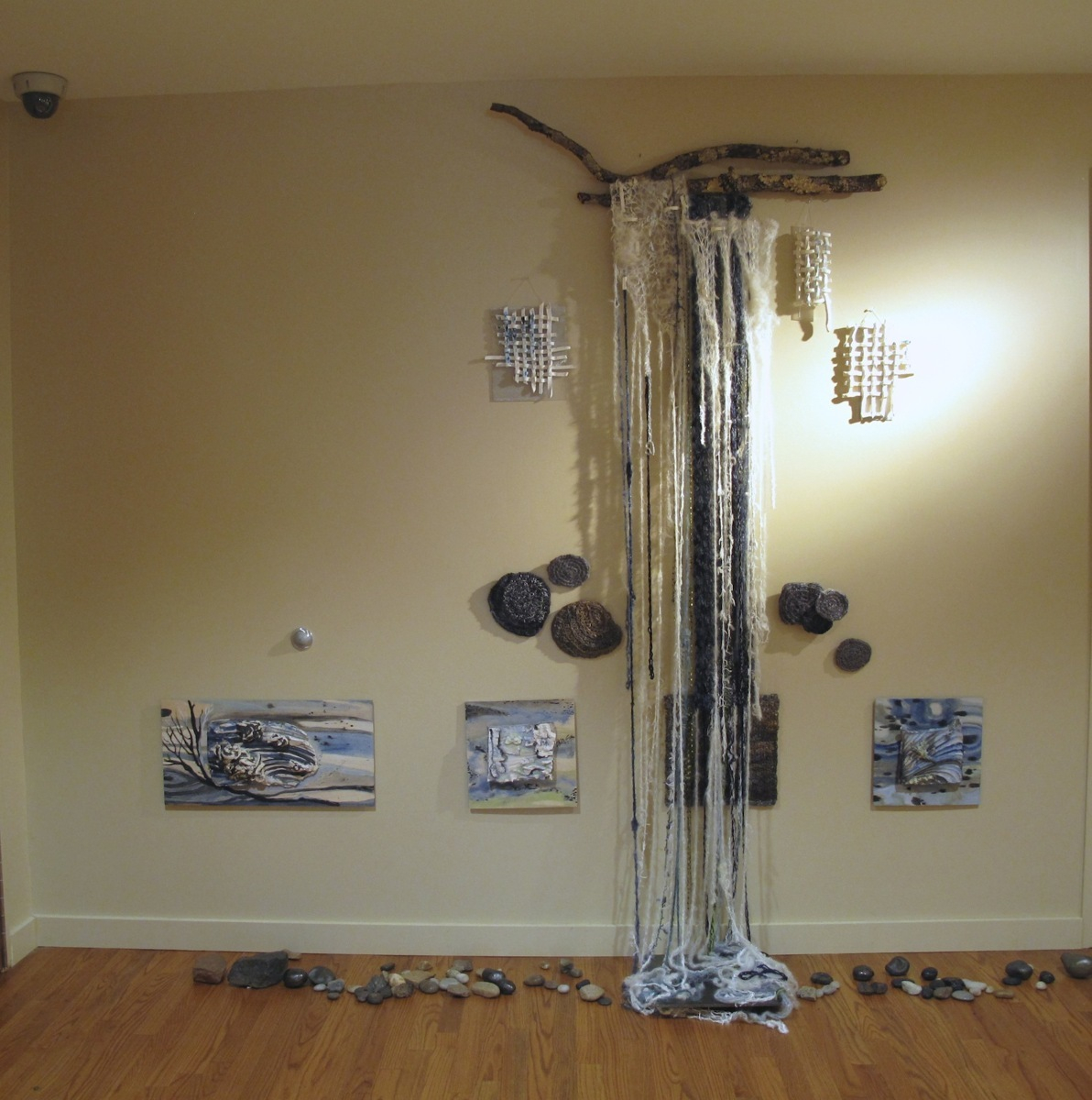 Waterfall detail, Solastalgia Installation, Room 1 (large view)