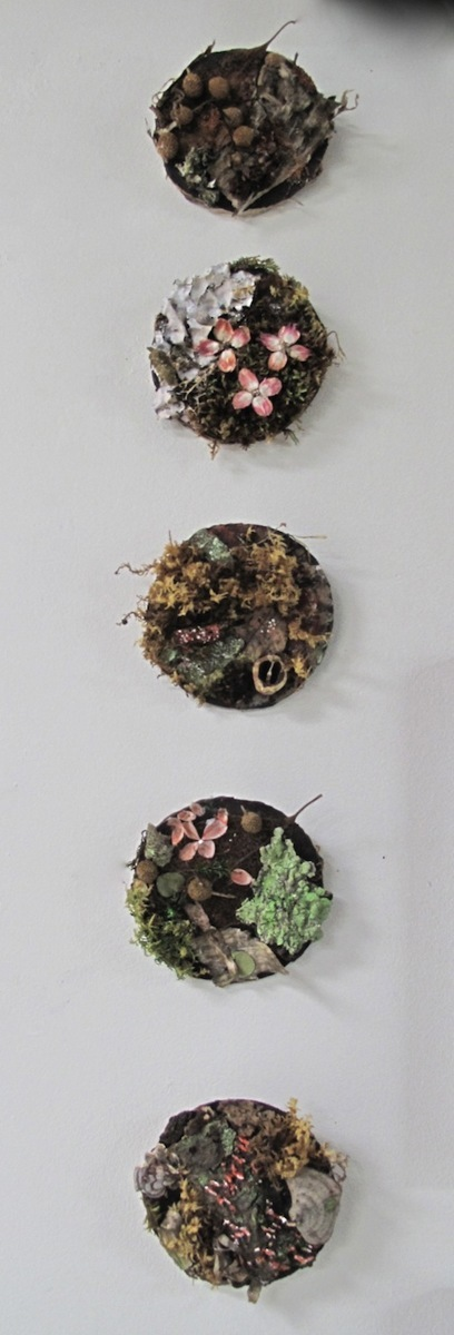 Mini Moss Paintings (large view)