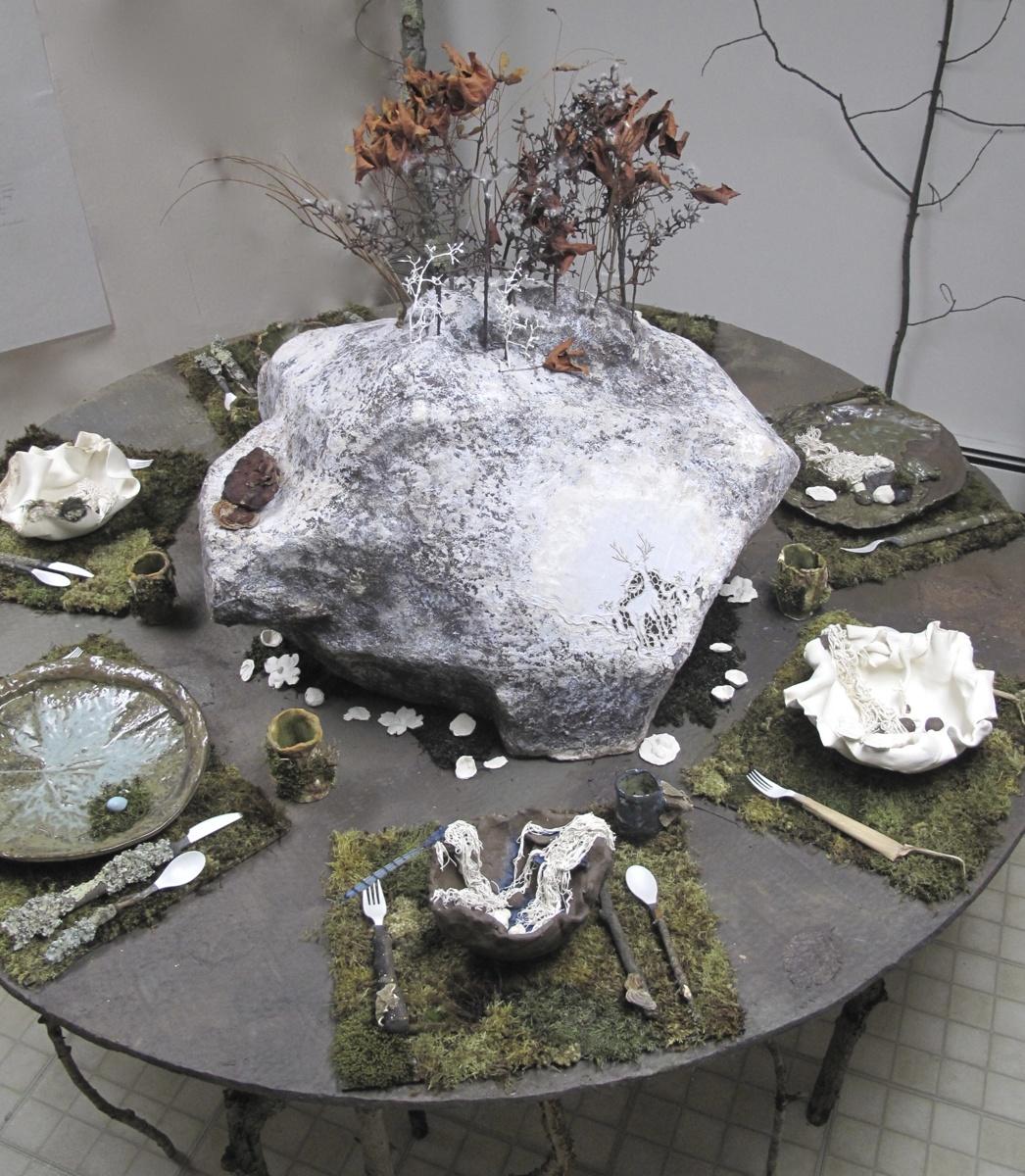Craving Nature Big Table, detail (large view)