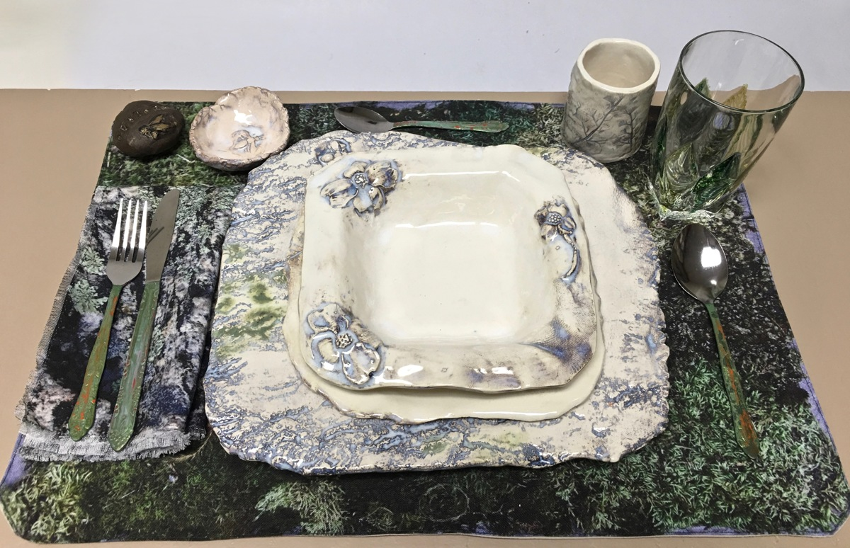 Place setting from Craving Nature - the FEAST Project Installation (large view)