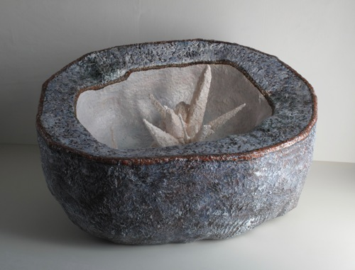 Large Loligagging Geode by Joy Kreves