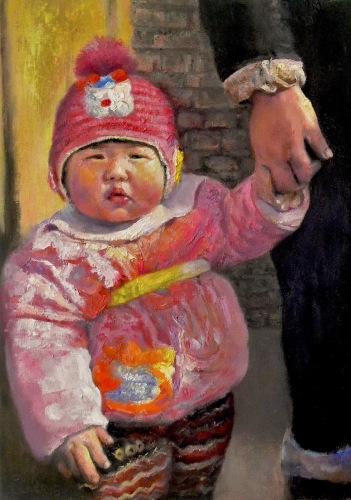 Chinese Baby of Woyang Village