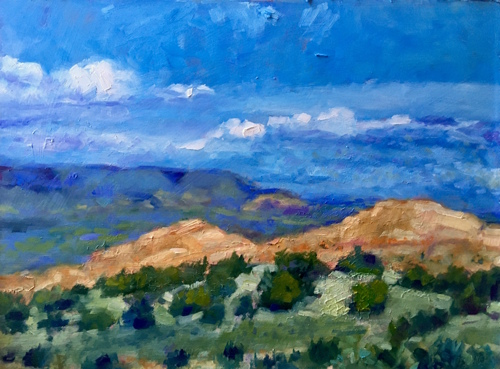 Pinons Near Santa Fe