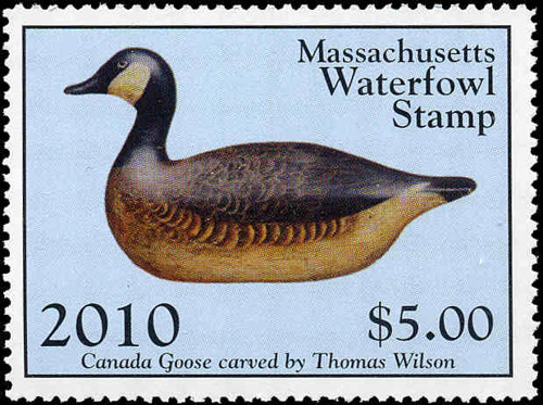 2010 MA Waterfowl Stamp