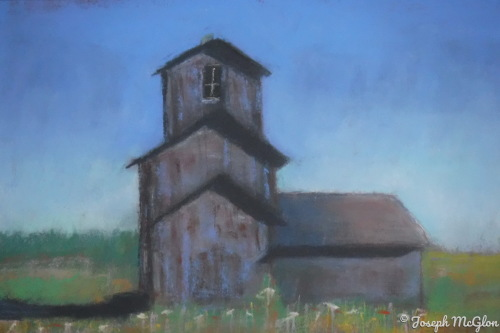 Barn In The Middle by Joseph McGlon