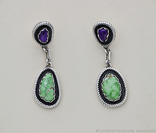 Simplicity is Beauty Earrings by Jonathan McKinney Jewelry