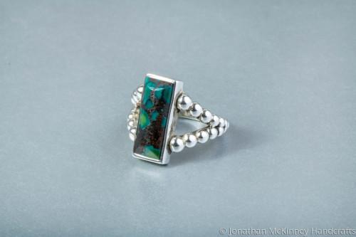 Raindrop Hubei Turquoise by Jonathan McKinney Jewelry