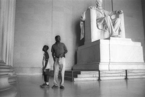 Washington, DC Lincoln Memorial by J. Michael Skaggs