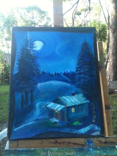 Cabin at Natahalla Forest by Jon Montoya Studio