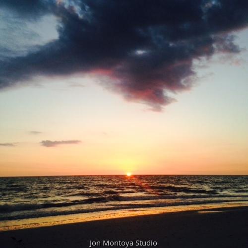 Bonita Beach Sunset (large view)