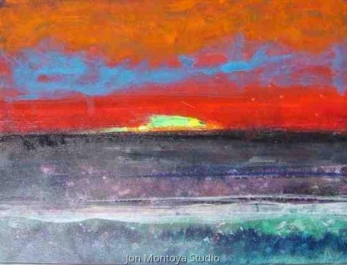 Setting of the Sun by John Montoya Studio