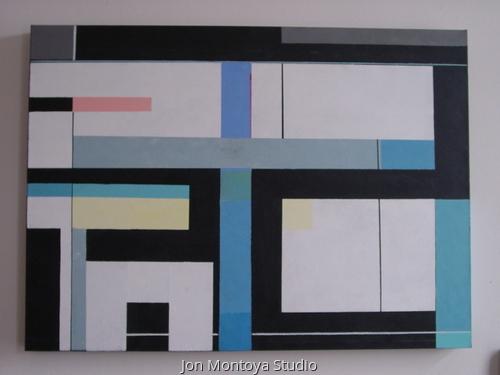 Conceptual Line Painting # 2  (large view)