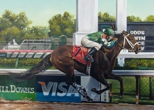 The Most Beautiful Finish. by James Navarro Fine Art