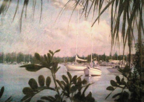 Vero Beach Marina Sailboats