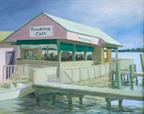 Riverside Cafe (pink and green years)