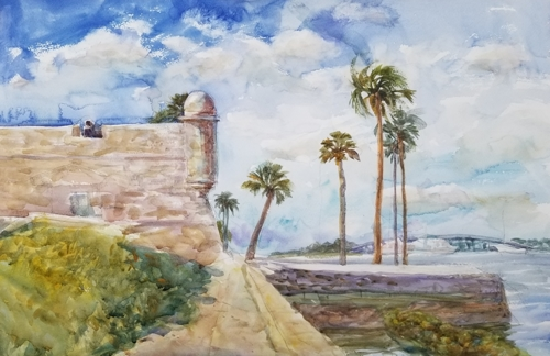 The Fort at St. Augustine