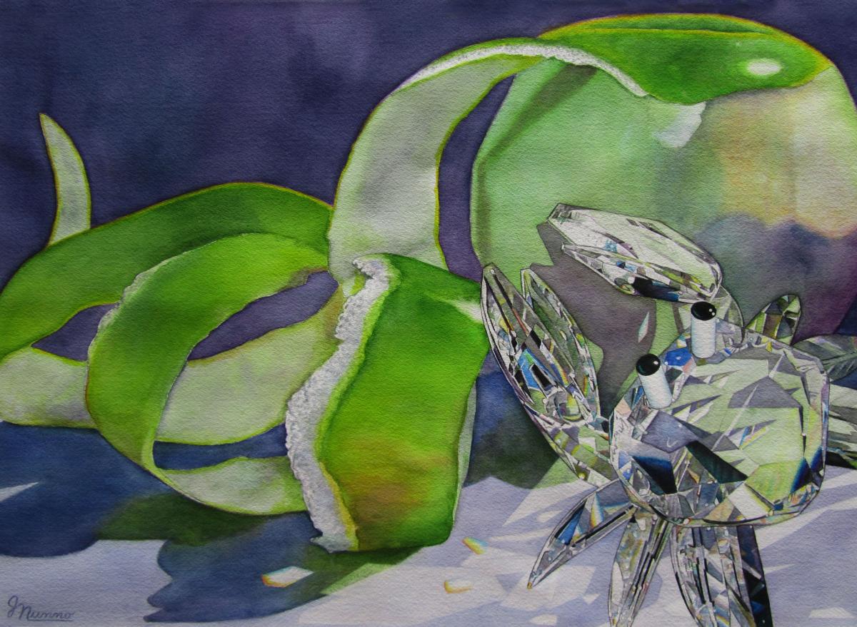 Judy Nunno, crabapple II (large view)