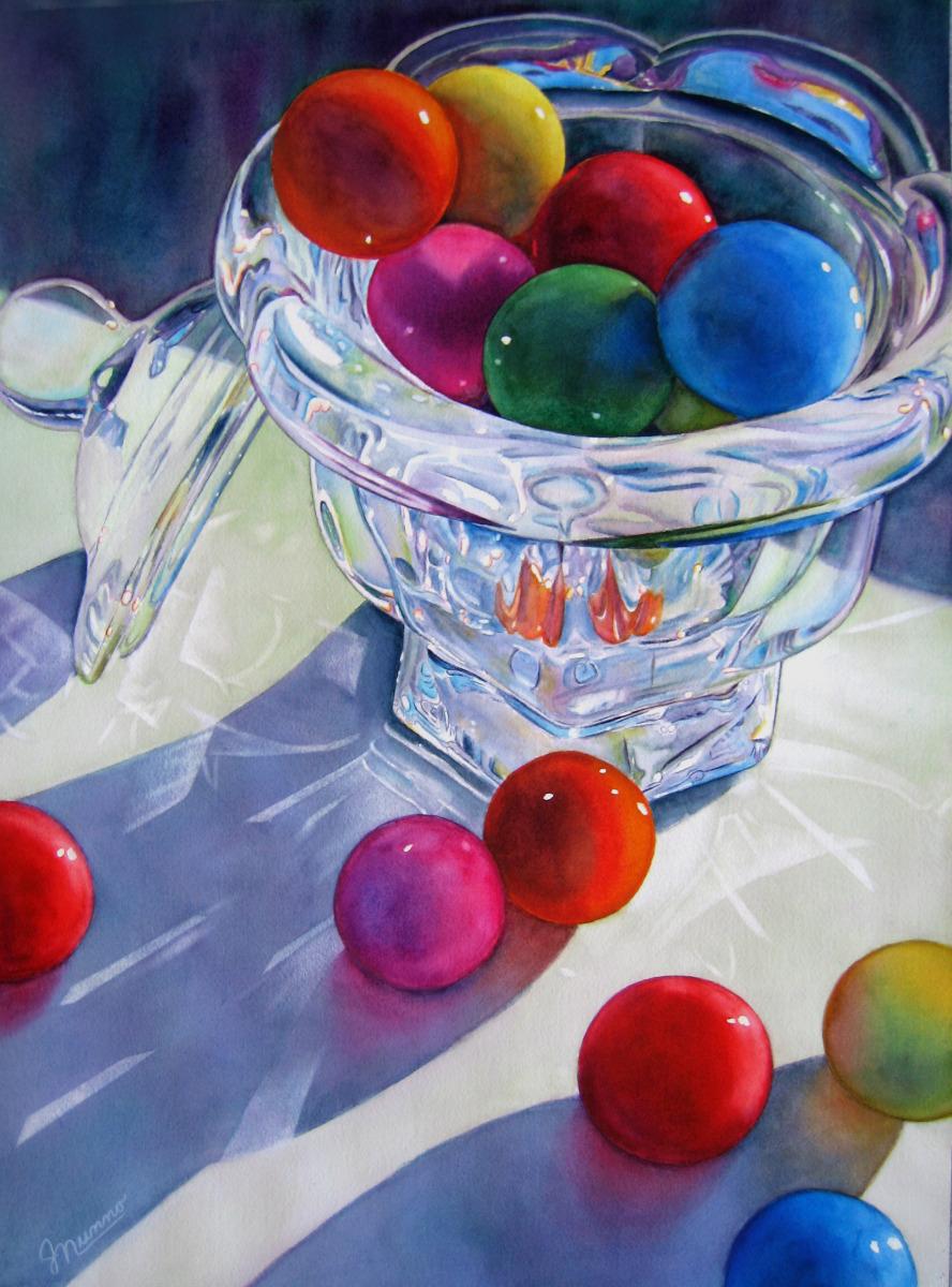 Judy Nunno, gumballs (large view)