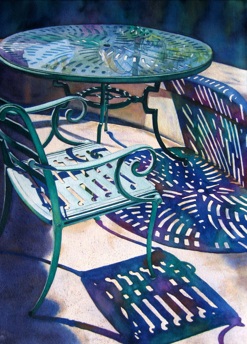 Judy Nunno, table for one (large view)