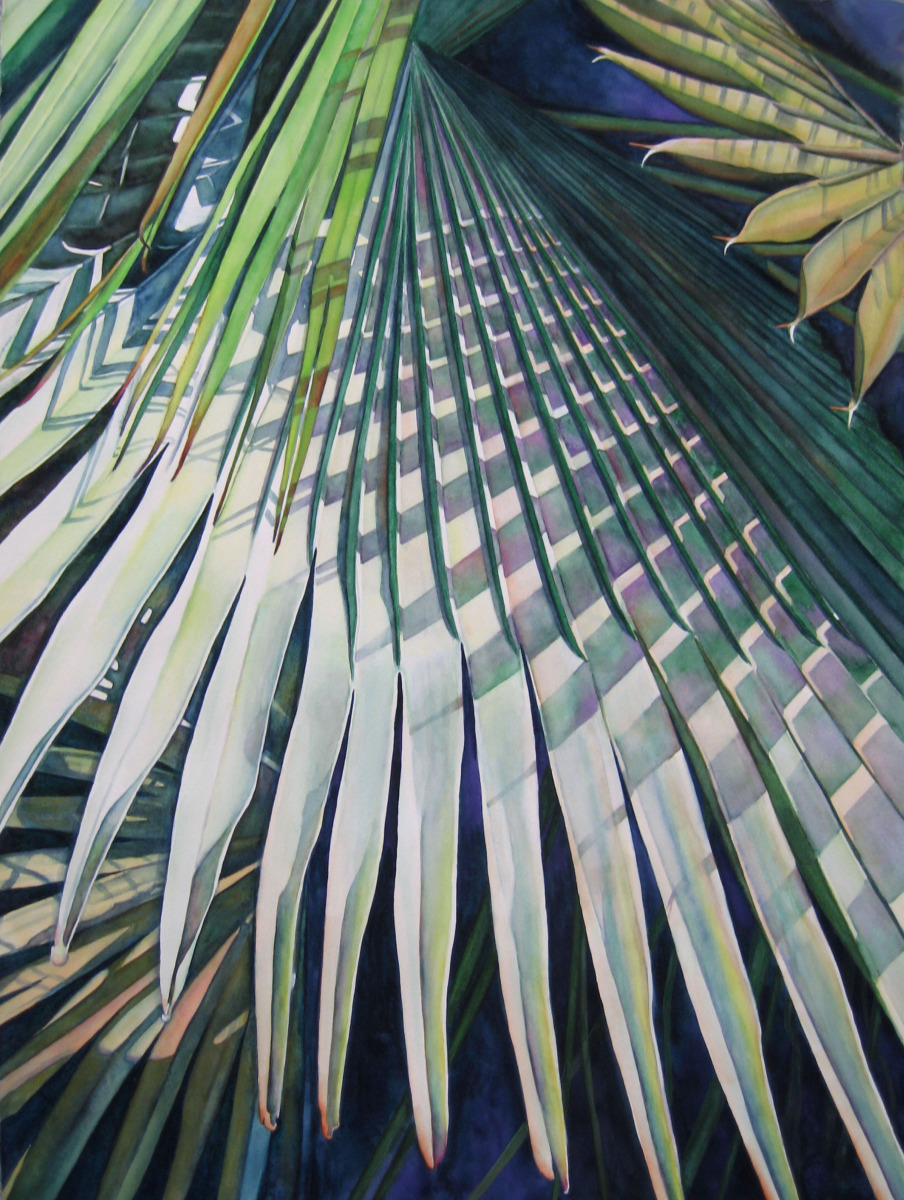 Judy Nunno, palm patterns (large view)