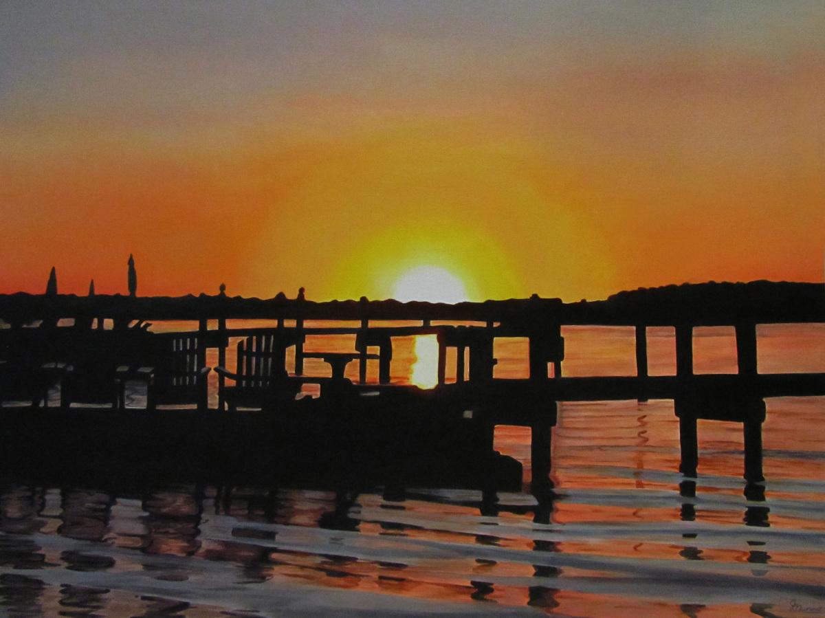 Judy Nunno, lisa's sunset (large view)
