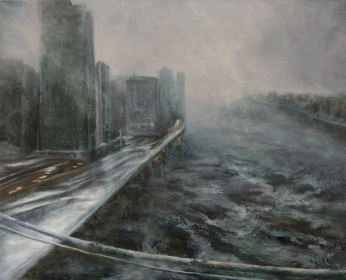 The City by Joan Mostad