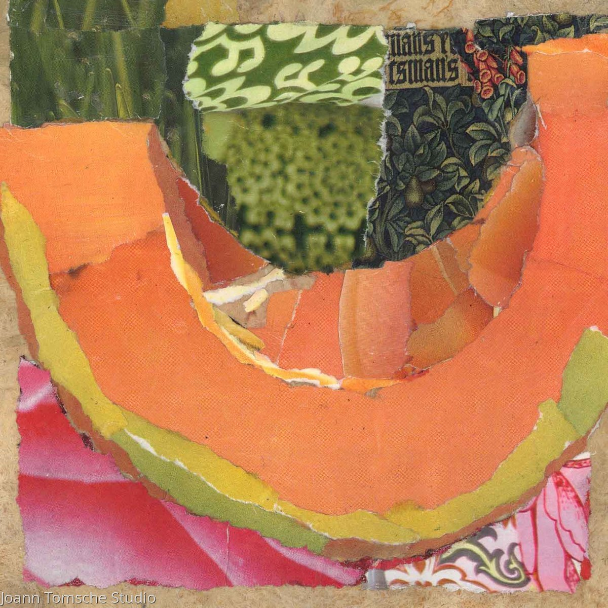 Summer Melon art tile (large view)