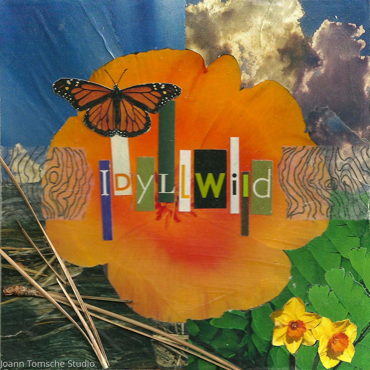 Idyllwild Poppy art tile (large view)