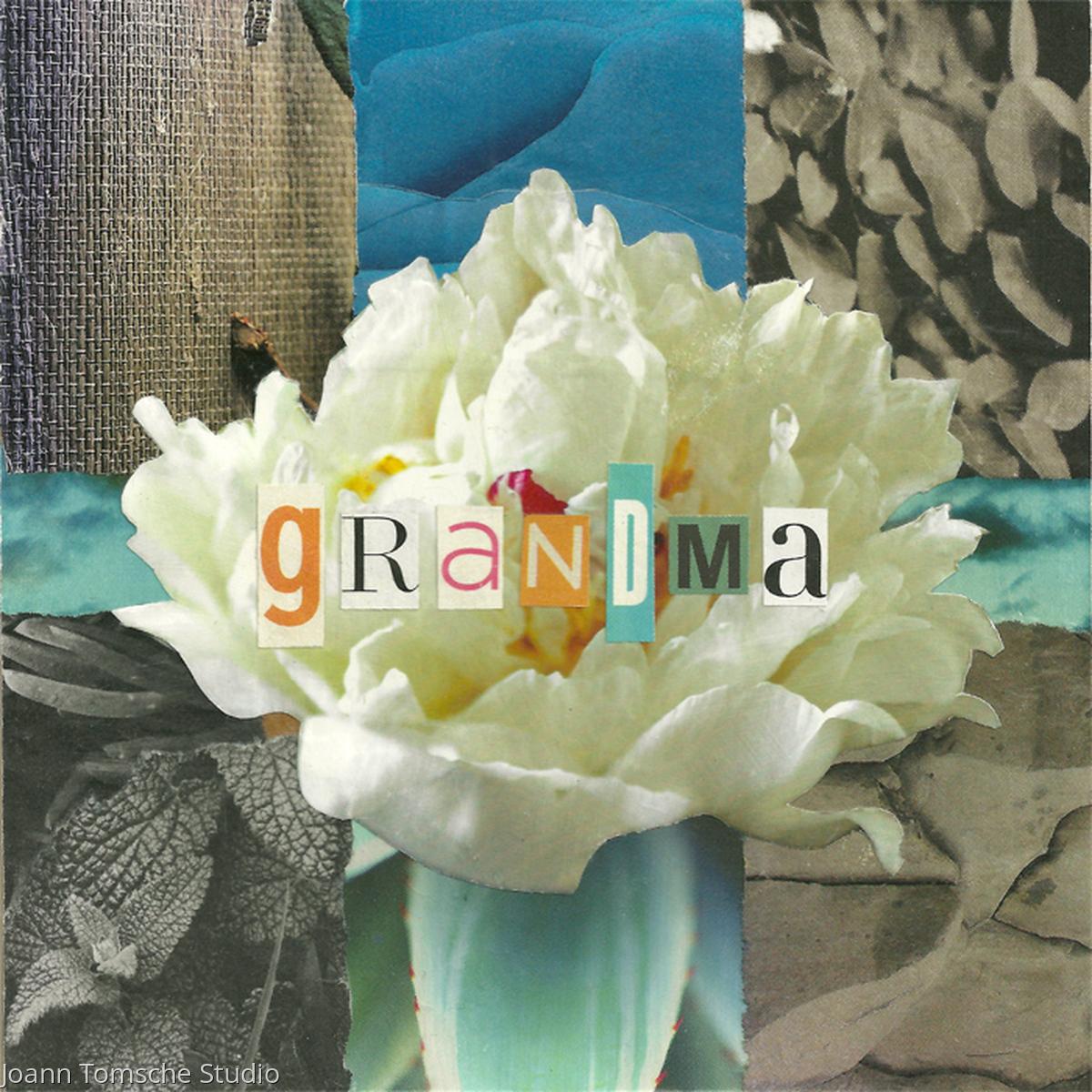 Grandma Rose Art Tile (large view)