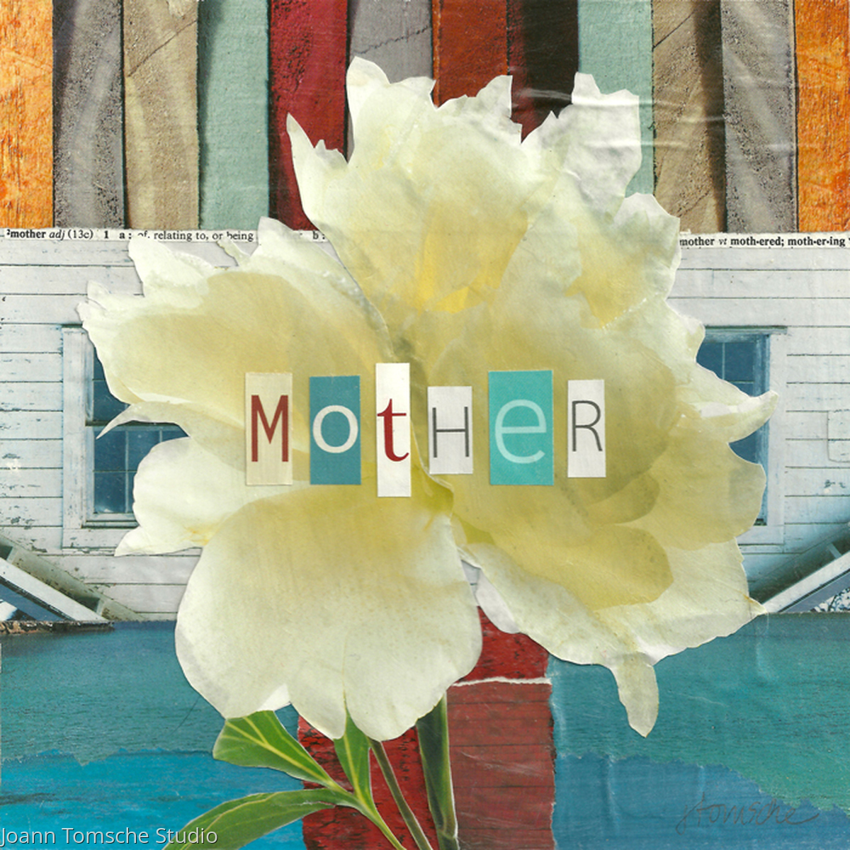 Define Mother Art Tile (large view)