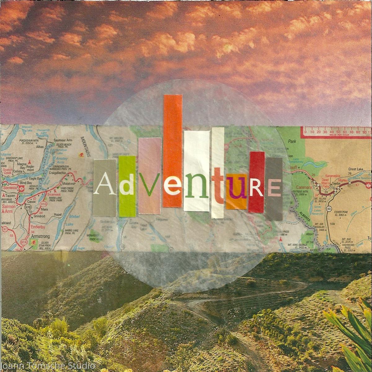 Adventure art tile (large view)