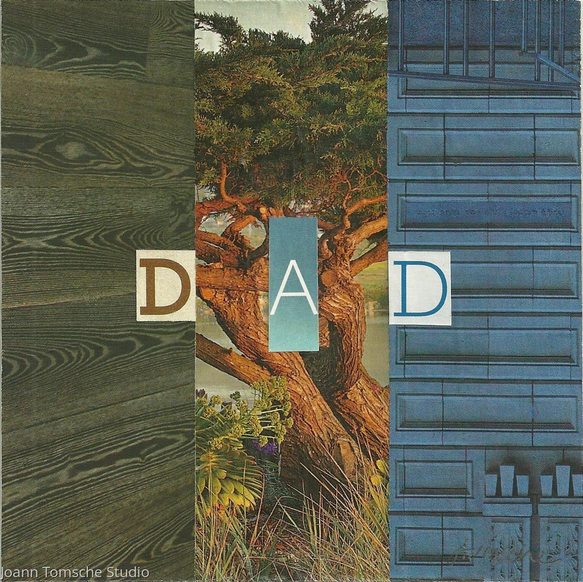 Dad art tile (large view)