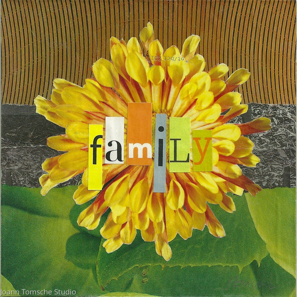 Family art tile (large view)