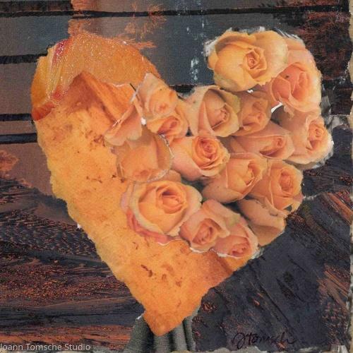 Dune Roses art tile by Joann Tomsche Studio