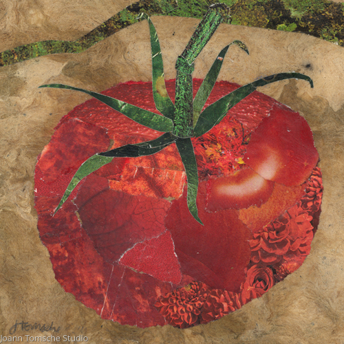 Vineripe art tile by Joann Tomsche Studio