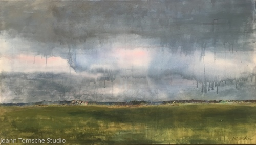 Earth and Sky 8 by Joann Tomsche Studio