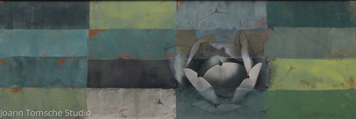 Aqua Verte by Joann Tomsche Studio