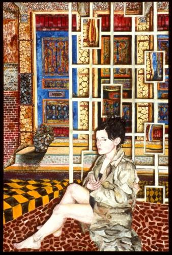Colored Doors by Jodi Bonassi