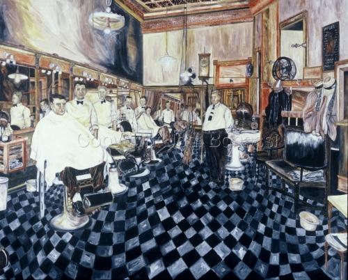 Times Star Barbershop 1938