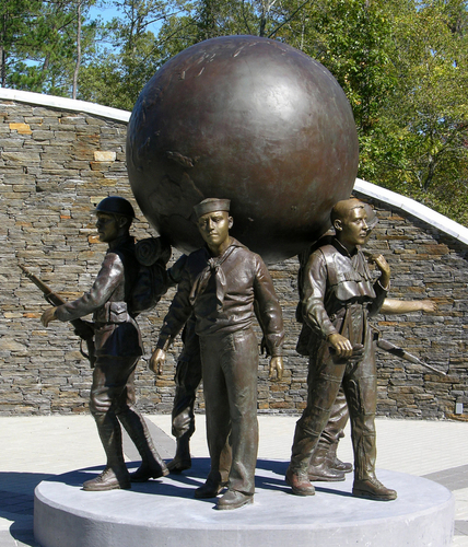 Georgia Veterans Memorial  by Jo Fassnacht