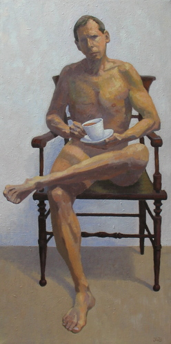 Self-Portrait With Tea