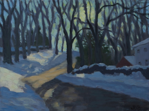 Fancher Road Series: The Hill - Snow