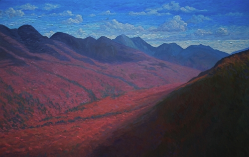 Adirondack Series: The Great Range From The Brothers, October