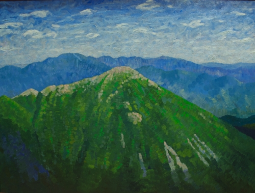 Adirondack Series- Portrait of Haystack As Seen From Marcy