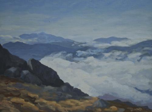 Path Across The Clouds, Algonquin Mountain, Adirondacks