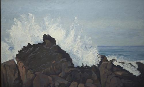 Wave Crashing, Pebble Beach, California