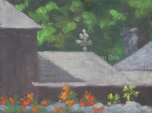 Fancher Road Series - The Barn, Lilies